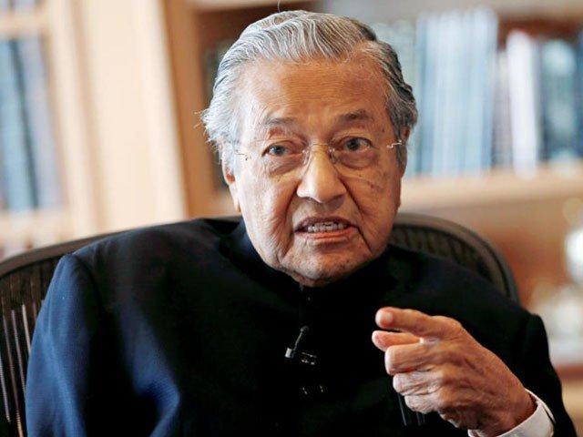 Malaysian Prime Minister Mahathir Mohamad. PHOTO: FILE