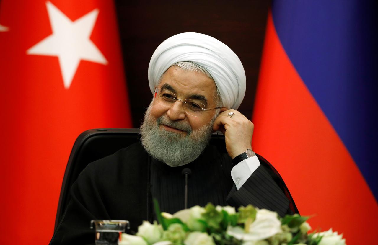 Iranian President Hassan Rouhani. PHOTO: REUTERS