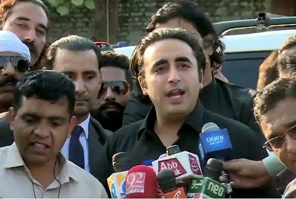 PPP Chairman Bilawal Bhutto Zardari PHOTO: NNI/FILE