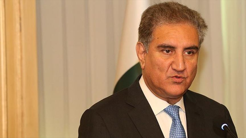 Foreign Minister Shah Mehmood Qureshi. PHOTO: ANADOLU/FILE