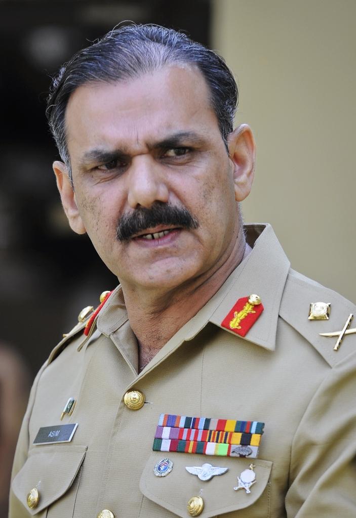 Former DG ISPR Lt Gen (retd) Asim Saleem Bajwa. PHOTO: FILE