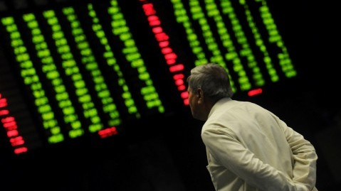 Benchmark index increases 581.38 points to settle at 39,287.65. PHOTO: FILE
