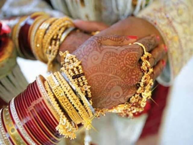 Video of the two marriages in Indian village went viral on social media. PHOTO: FILE