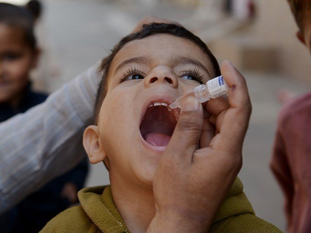 According to the polio emergency operation centre, the polio infected children had not taken polio drops. PHOTO: FILE