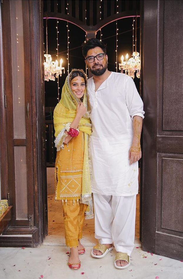Iqra Aziz and Yasir Hussain are all smiles on their mayoun | The ...