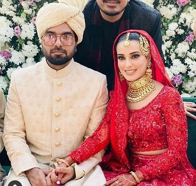 In Pictures: Iqra Aziz and Yasir Hussain have finally tied the knot! | The  Express Tribune