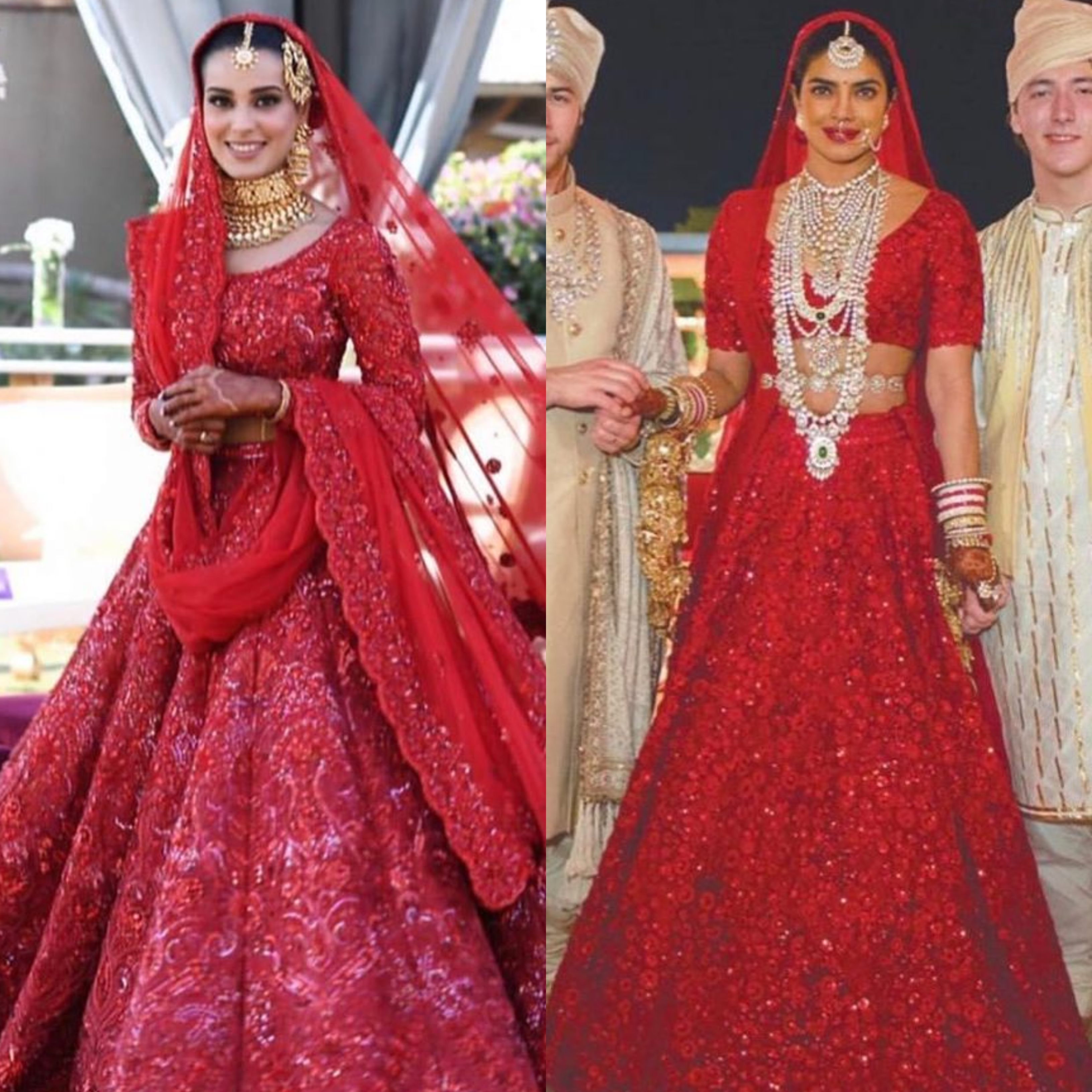 Twitter Is Speculating Iqra Aziz S Wedding Dress Is A Copy Cat
