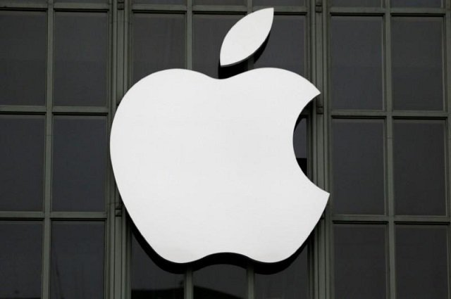 The Apple Inc. logo is shown outside the company's Worldwide Developers Conference in San Francisco, California, US, June 13, 2016. PHOTO: REUTERS