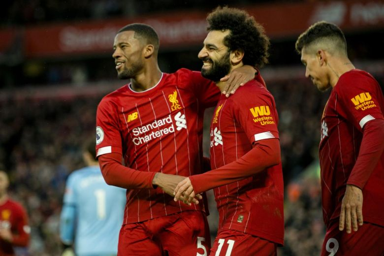 Jurgen Klopp's men have dropped just two points all season and are on a run of 16 consecutive league wins. PHOTO:A FP
