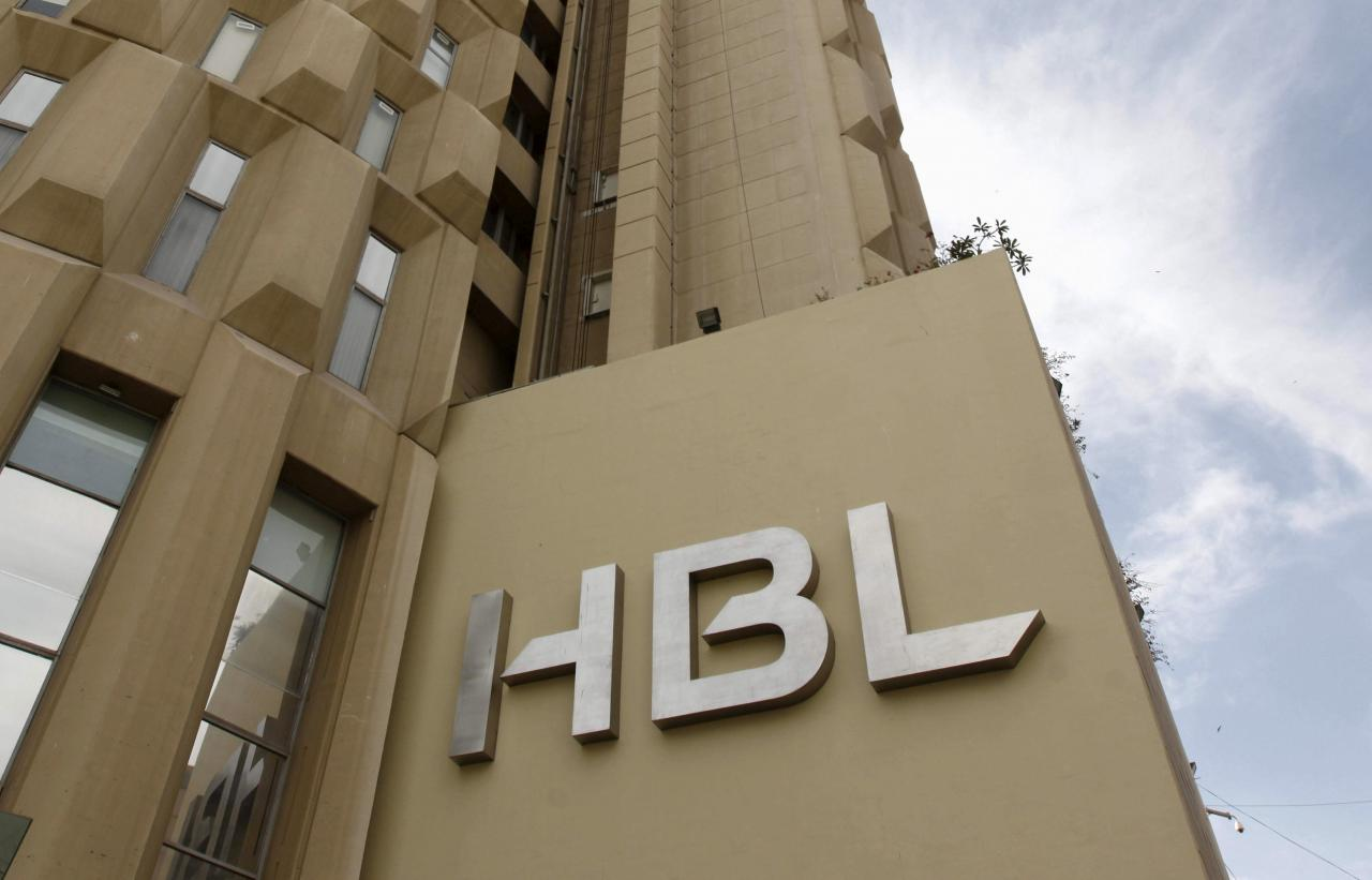 File photo of HBL. PHOTO: REUTERS