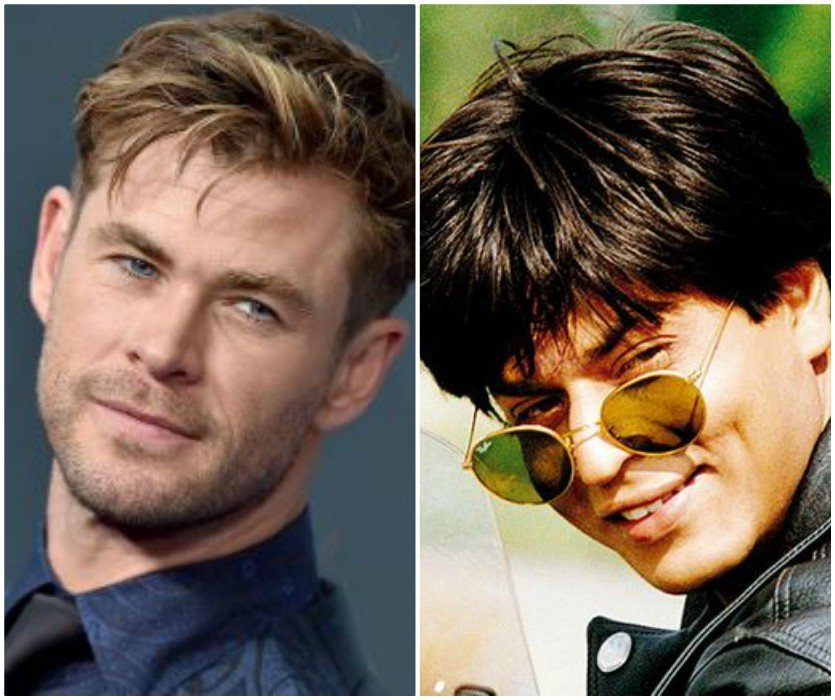 Watch Chris Hemsworth Repeats Shah Rukh Khan S Iconic Line From Ddlj The Express Tribune