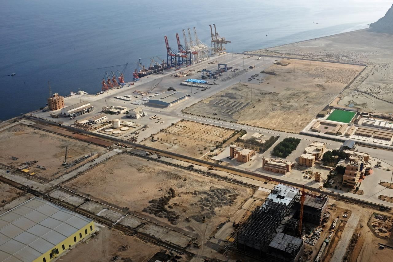 A general view of Gwadar port in Gwadar, Balochistan. PHOTO: REUTERS