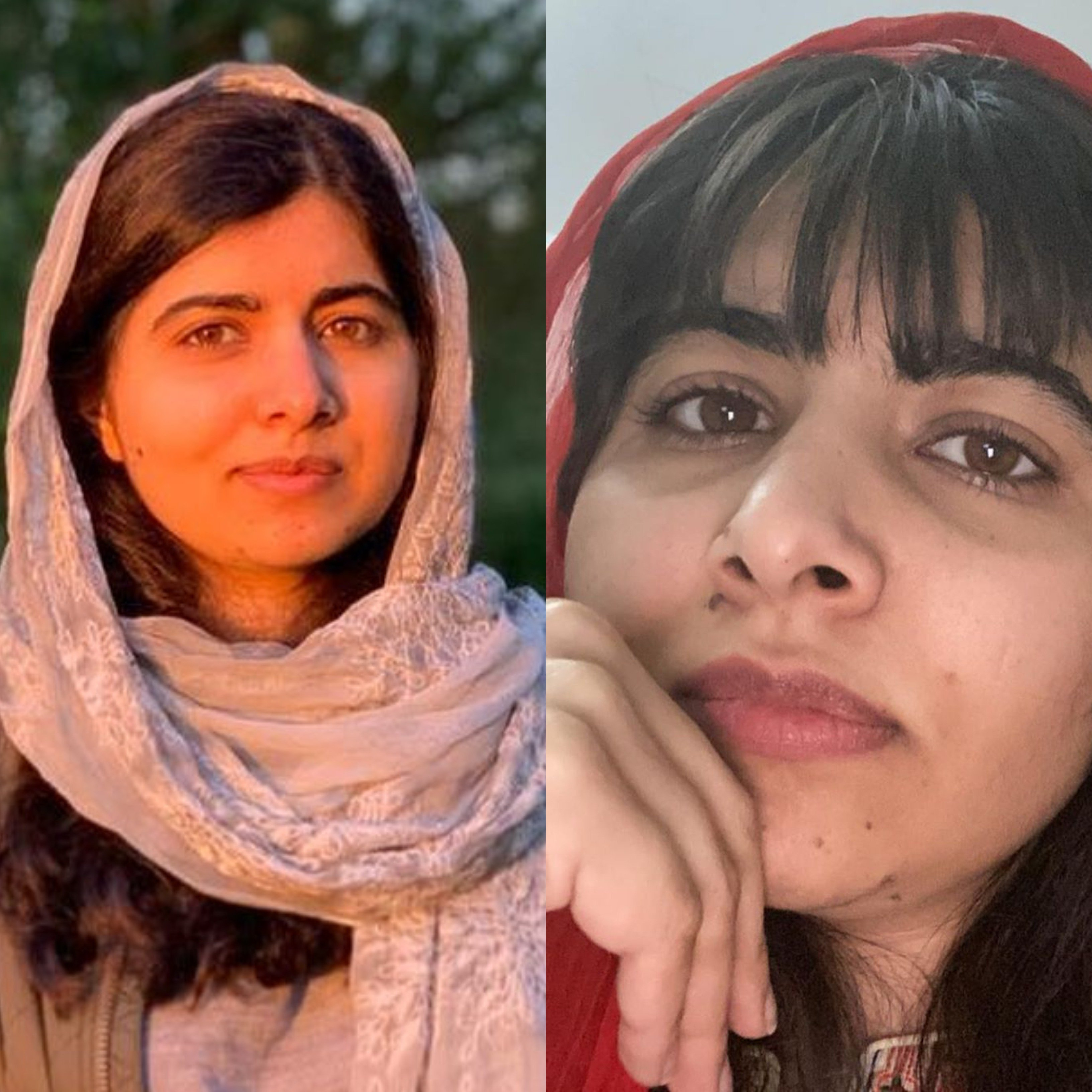 Malala Cuts Her Own Fringe In Self Quarantine And Fans Are Loving It The Express Tribune