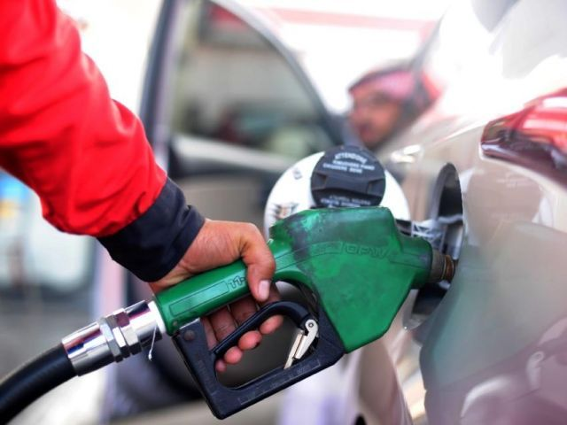 Price of high speed diesel also massively cut by Rs 27.15 per litre. PHOTO: AFP