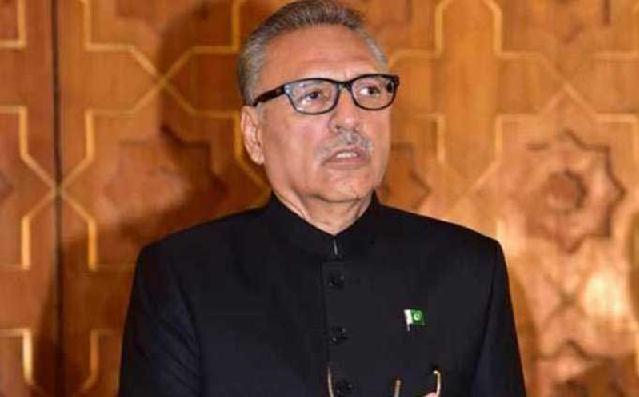 A Radio Pakistan file photo of President Dr Arif Alvi.
