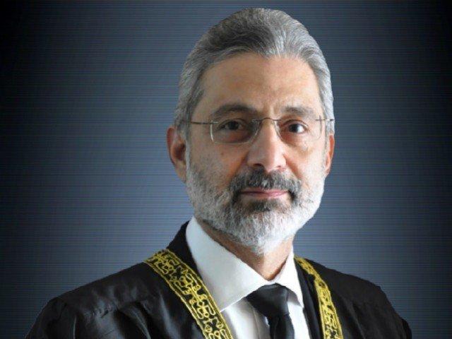 File photo of SC Judge Justice Qazi Faez Isa
