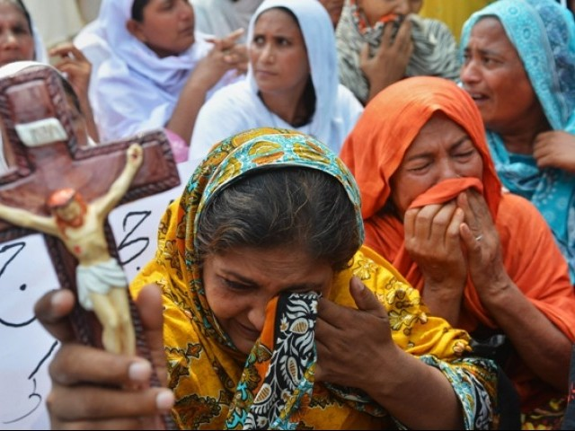 Pakistan ranks fourth on the list of the 50 countries where persecution is worst for Christians. PHOTO: AFP