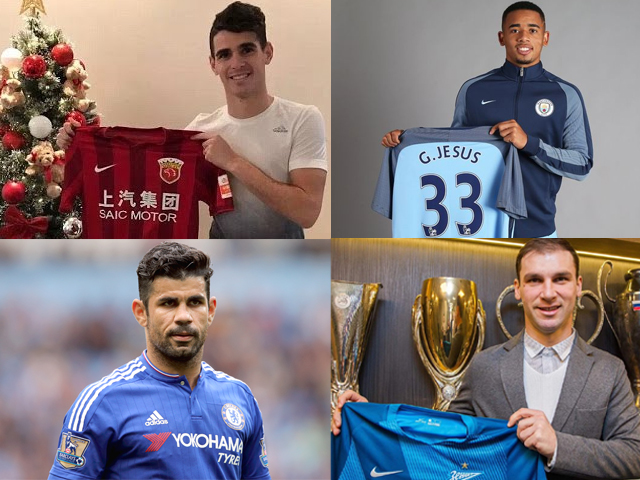 This year round, the Premier League clubs have spent a total of almost £215 million during the January window transfer period.