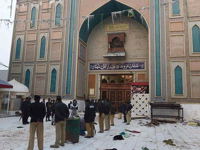 The suicide bombing of the Sehwan shrine is an ominous development for the world, in a region that badly needs stability. PHOTO: AFP.