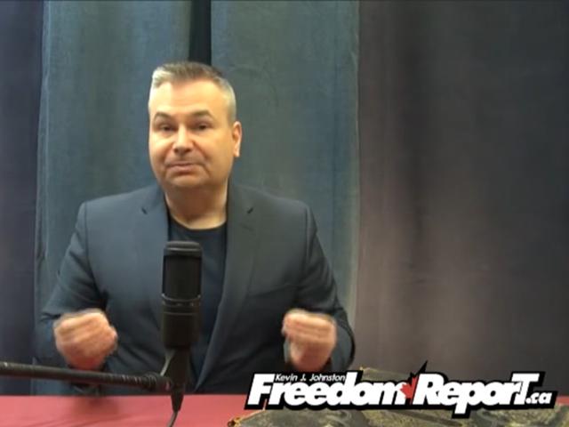 Kevin J Johnston of Freedom Report. PHOTO: YOUTUBE SCREENSHOT