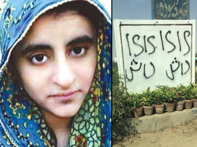 It's now reported that she was radicalised and travelled to Syria to join the IS, then came back to Pakistan and went to Lahore as part of a militant network.