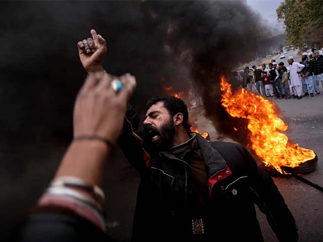 On the one hand, religion is used by the state to exact conformity. PHOTO: AP