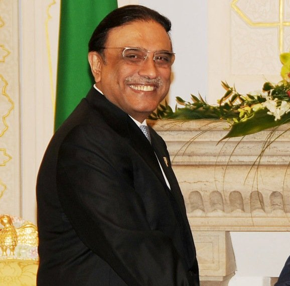 File photo of President Asif Ali Zardari present at a meeting at Qasr e Millat Dushanbe. On November 5, 2012, the government, on the directions of the Supreme Court dispatched a letter to Swiss authorities for reopening graft cases against him. PHOTO: APP/FILE