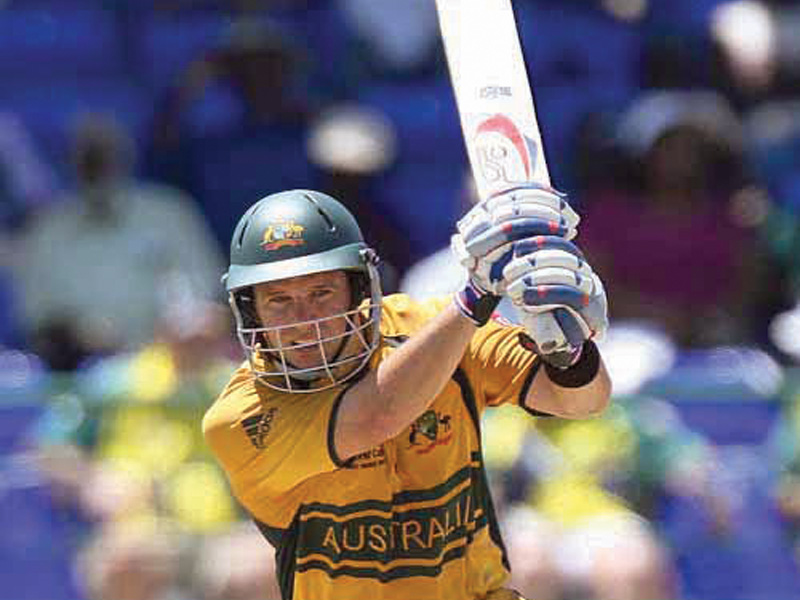 The presence of a player like Hodge could prove vital in the PCB's mission of reviving international cricket in Pakistan. PHOTO: AFP
