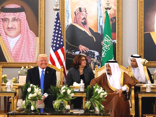 The US president's visit is seen as highly symbolic, as he looks to repair the US relationship with its closest Arab ally. PHOTO: REUTERS