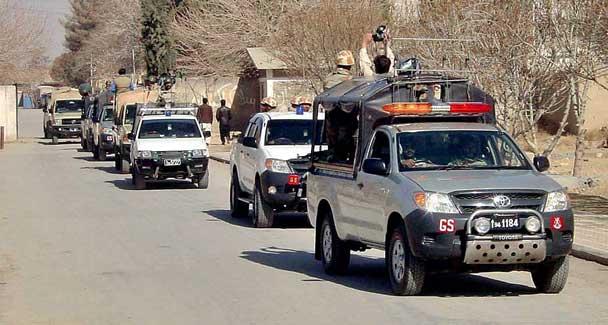 A file photo of FC in Balochistan. PHOTO: APP/FILE