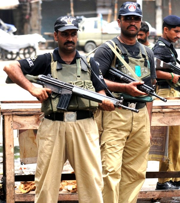 Sindh Police. PHOTO: AFP/FILE