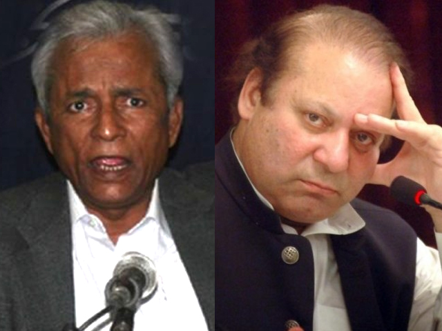 At a time when the PM's fate is hanging by a thread, Nehal Hashmi had the audacity to sprout words which could potentially seal Nawaz Sharif's fate.