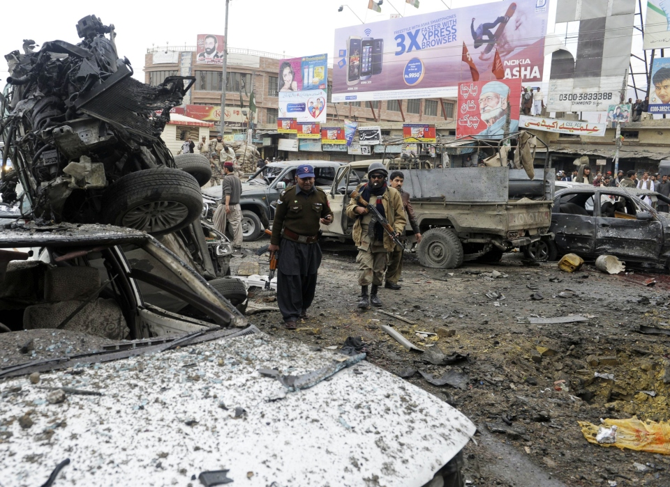 Police complain that no 'specific' information was shared with them by intelligence agencies. PHOTO: AFP/FILE