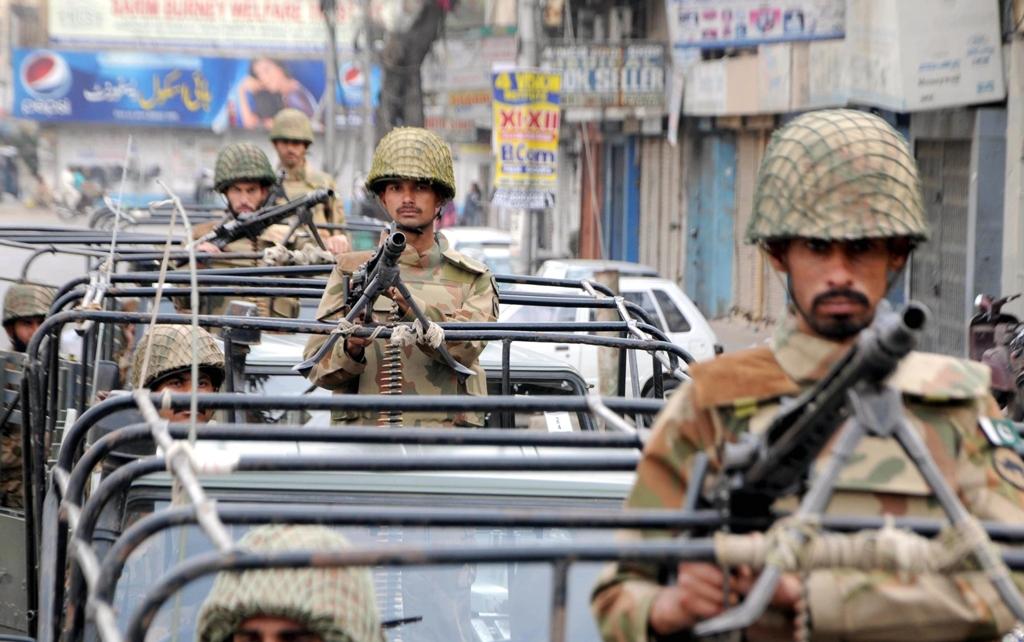 File photo of Rangers in Karachi. PHOTO: EXPRESS/ FILE