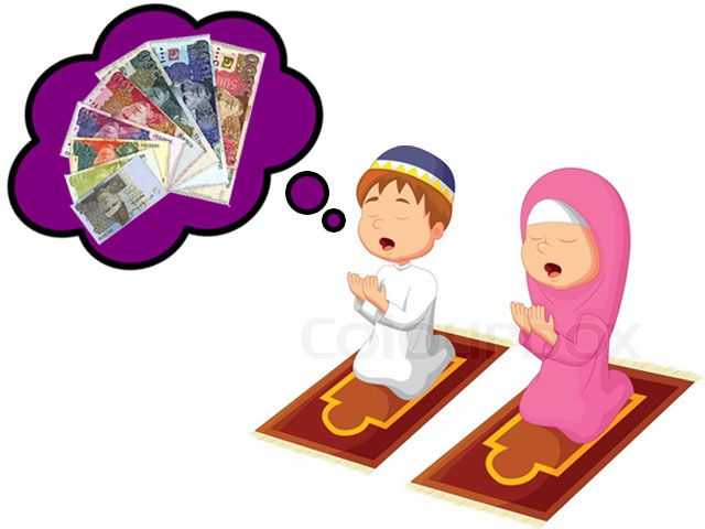 There has to be more to Eid than that stash of money the child tucks away.