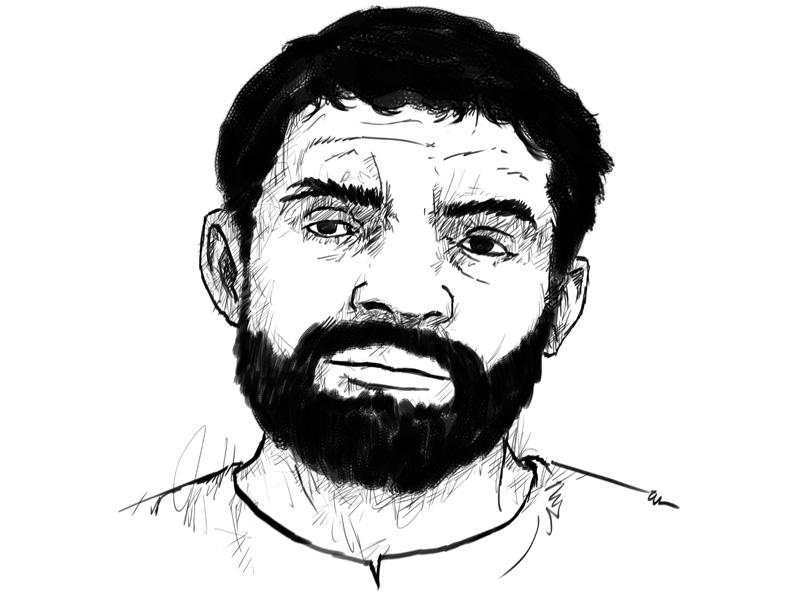 Arshad Pappu. ILLUSTRATION: JAMAL KHURSHID