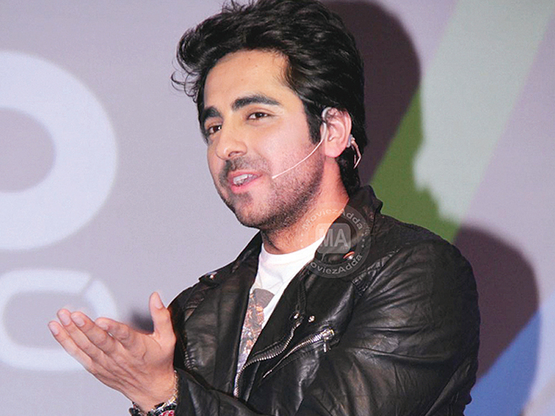 His wife and one-year-old son live in their hometown Chandigarh and Ayushmann misses them a lot. PHOTO: FILE