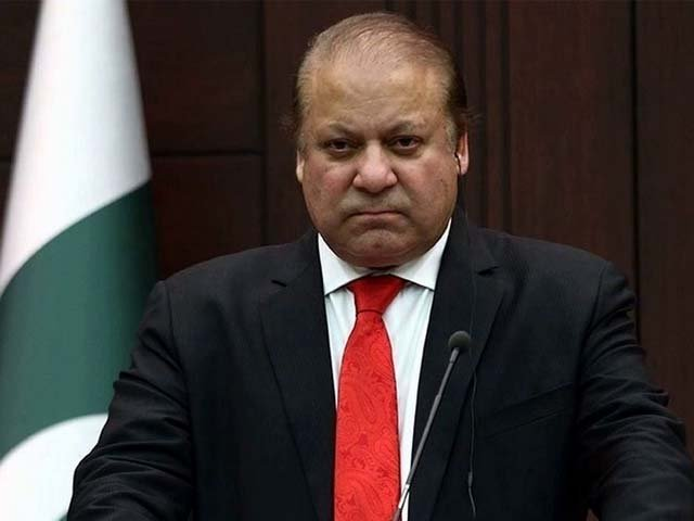 Nawaz Sharif, the former prime minister of Pakistan was declared dishonest and disqualified from being a member of the National Assembly under Article 62(1)f of the Constitution. PHOTO: SCREENSHOT