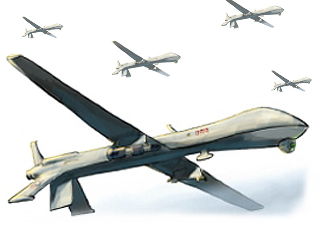 Pakistan should stop ties with the US government if it continues to support drone strikes. PHOTO: FILE