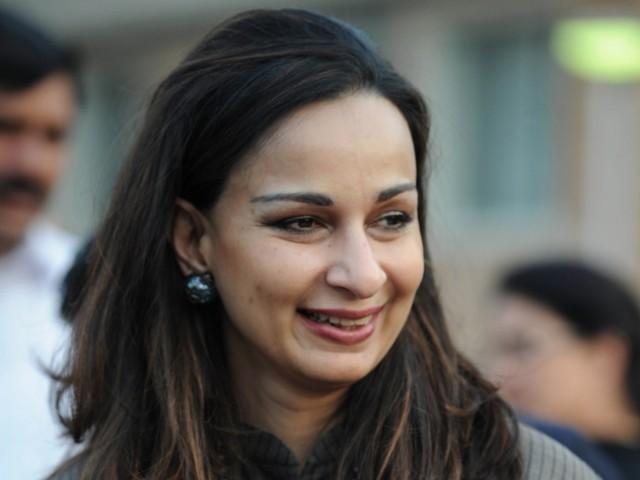 Sherry Rehman. PHOTO: AFP/FILE