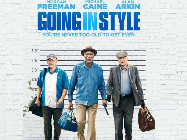 On the whole, this caper comedy offers nothing new or interesting, nor is it particularly funny or suspenseful. PHOTO: IMDb
