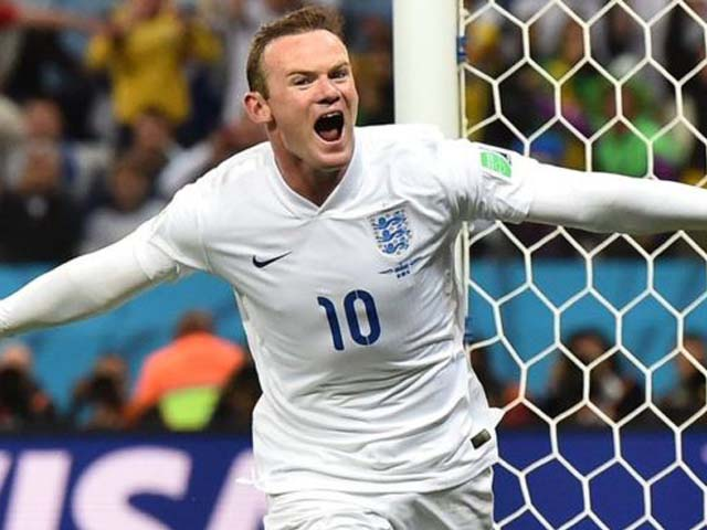 Wayne Rooney was the youngest footballer ever to wear the hallowed Three Lions badge on his chest. PHOTO: AFP
