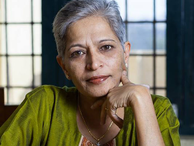 Gauri's brand of journalism was a product of her DNA. PHOTO: GAURI LANKESH/FACEBOOK