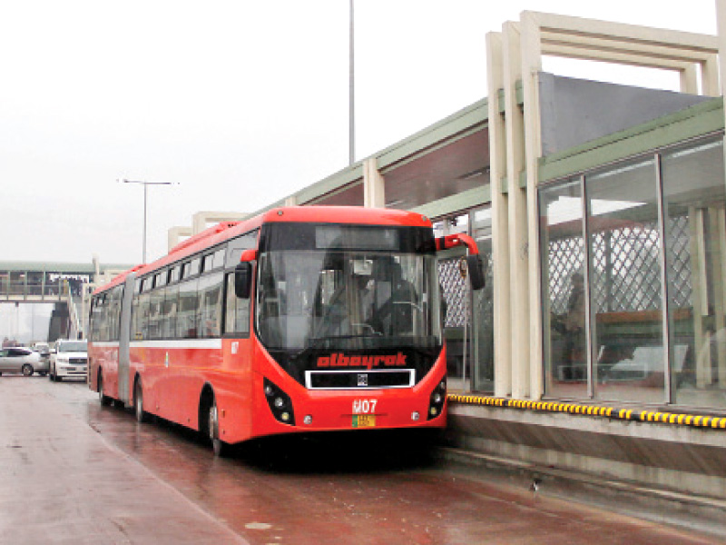 Public Transport Govt To Order Studies On New Metro Bus Projects The Express Tribune