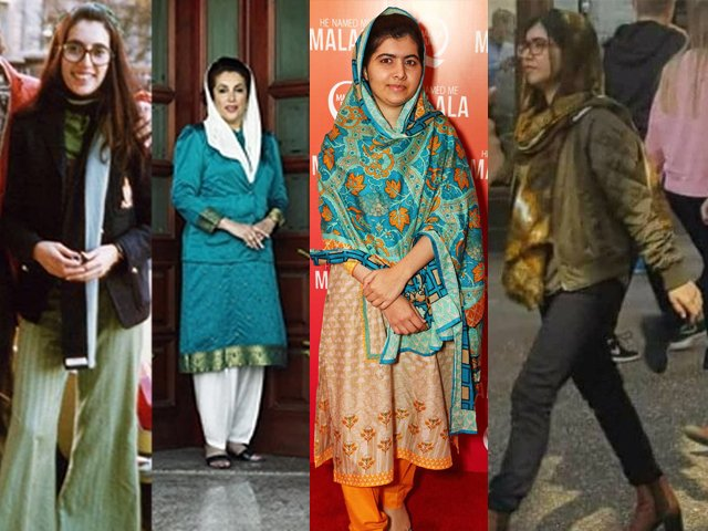 """Benazir Bhutto raised her voice, got assassinated and became a """"shaheed"""" (martyr), the same Benazir who chose western attire during her time at Harvard and Oxford University."""