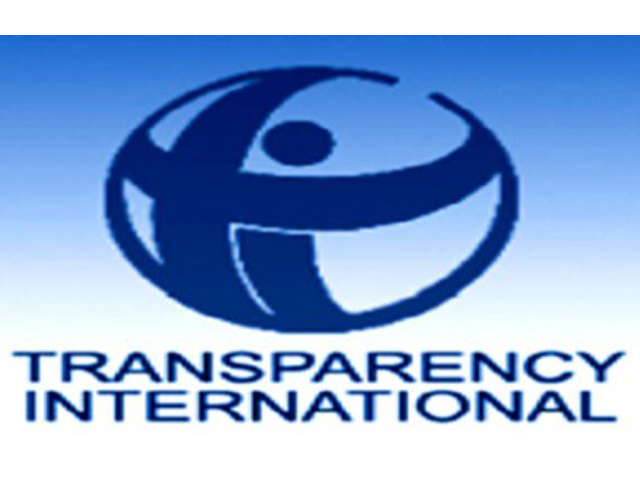 Transparency International Pakistan. PHOTO: FILE