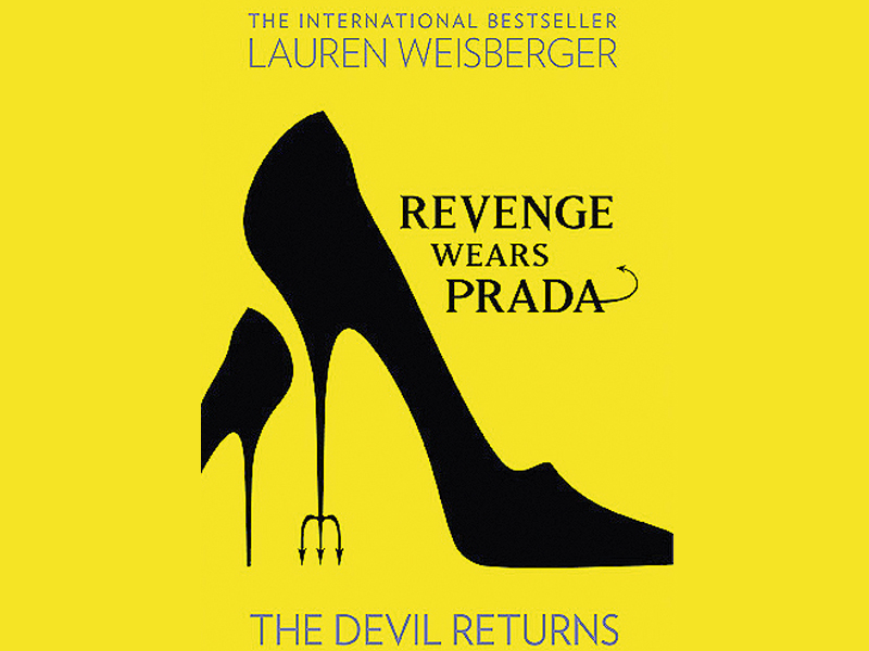 Don't go by the title of this book because although Miranda still wears Prada, she isn't exactly the devil here.