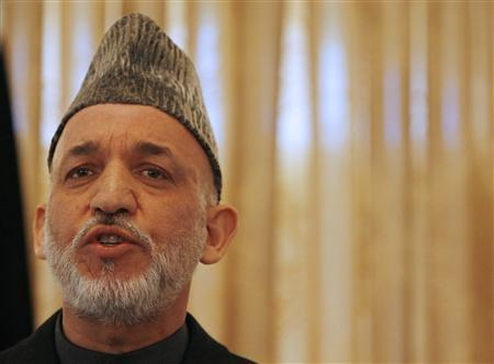 Afghan President Hamid Karzai PHOTO: REUTERS