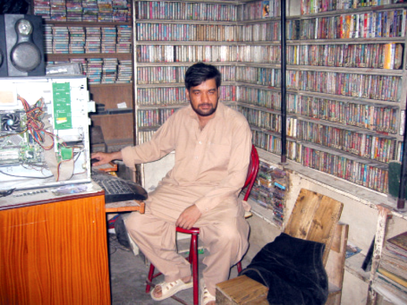 New and evolving technology has rendered cassettes and even CDs antique. Decades old cassette shops are running out of business and being replaced by plazas.  PHOTO: EXPRESS
