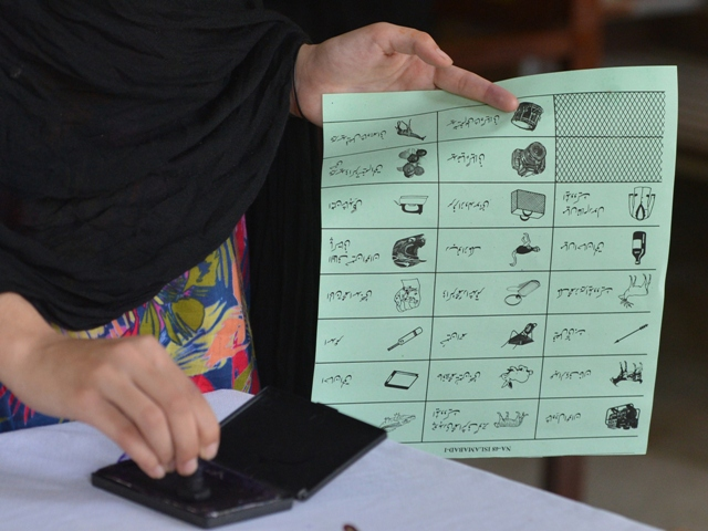 By-election were postponed due to security reasons. PHOTO: AFP